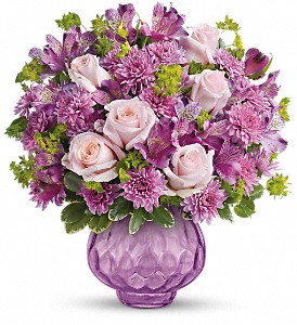 Teleflora's Lavender Chiffon Bouquet in Strathroy ON, Nielsen's Flowers & The Country Goose