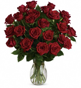 My True Love Bouquet with Long Stemmed Roses in Warwick RI, Yard Works Floral, Gift & Garden