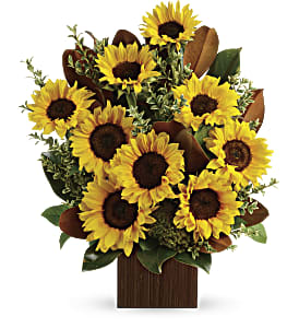 You're Golden Bouquet by Teleflora in Richmond BC, Touch of Flowers