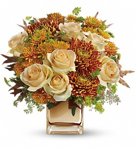 Teleflora's Autumn Romance Bouquet in Springfield OH, Netts Floral Company and Greenhouse