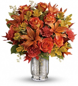 Teleflora's Fall Blush Bouquet in Reading PA, Heck Bros Florist