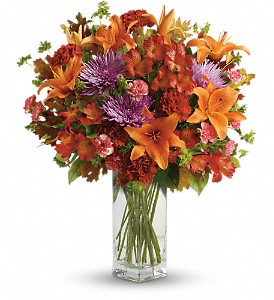 Teleflora's Fall Brights Bouquet in Greenfield WI, Grandpa Franks Flower Market
