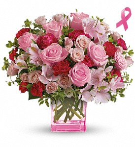 Teleflora's Pink Grace Bouquet in Vancouver BC, Davie Flowers