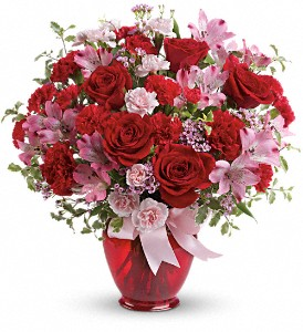 Teleflora's Blissfully Yours Bouquet in Oklahoma City OK, Array of Flowers & Gifts