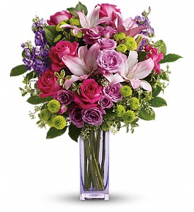 Teleflora's Fresh Flourish Bouquet in Reading PA, Heck Bros Florist
