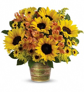 Teleflora's Grand Sunshine Bouquet in Milwaukee WI, Flowers by Jan