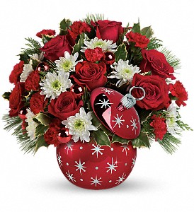 Celebrations by Radko Starry Ornament Bouquet in Columbus OH, OSUFLOWERS .COM