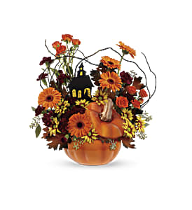 Teleflora's Haunted House Bouquet in Paso Robles CA, Country Florist