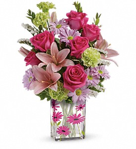 Teleflora's Thanks In Bloom Bouquet in Fort Mill SC, Jack's House of Flowers