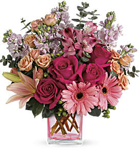 Teleflora's Painterly Pink Bouquet in Orangeville ON, Parsons' Florist