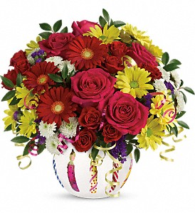 Teleflora's Special Celebration Bouquet in Liverpool NY, Creative Florist