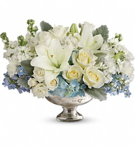Telflora's Elegant Affair Centerpiece in Reading PA, Heck Bros Florist