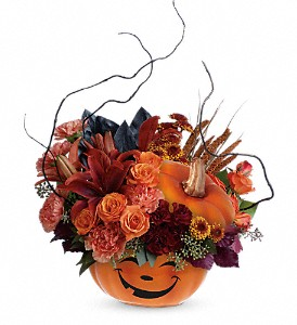 Teleflora's Halloween Magic Bouquet in Liverpool NY, Creative Florist