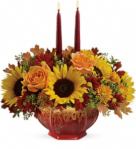 Teleflora's Thanksgiving Garden Centerpiece in Drayton ON, Blooming Dale's