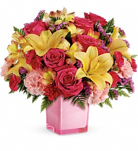 Teleflora's Pop Of Fun Bouquet in Federal Way WA, Buds & Blooms at Federal Way