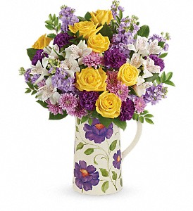 Teleflora's Garden Blossom Bouquet in flower shops MD, Flowers on Base