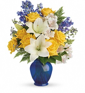 Teleflora's Oceanside Garden Bouquet in Woodbridge VA, Michael's Flowers of Lake Ridge