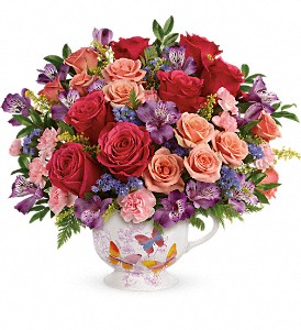 Teleflora's Wings Of Joy Bouquet in Reading PA, Heck Bros Florist