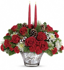 Teleflora's Sparkling Star Centerpiece in Springfield IL, Fifth Street Flower Shop
