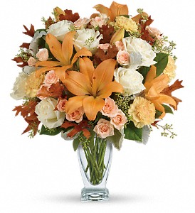 Teleflora's Seasonal Sophistication Bouquet in Brunswick GA, The Flower Basket
