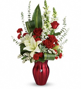 Teleflora's Hearts Aflutter Bouquet in West Chester OH, Petals & Things Florist
