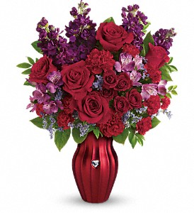 Teleflora's Shining Heart Bouquet in Los Angeles CA, Haru Florist