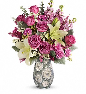 Teleflora's Blooming Spring Bouquet in Belford NJ, Flower Power Florist & Gifts