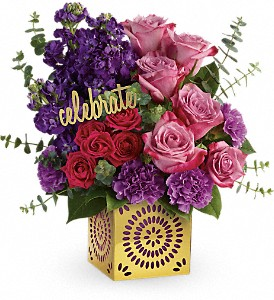 Teleflora's Thrilled For You Bouquet in Grand Island NE, Roses For You!