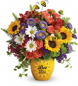 Teleflora's Garden Of Wellness Bouquet in Chicago IL, Wall's Flower Shop, Inc.