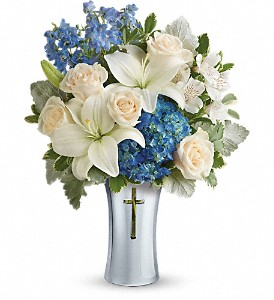 Teleflora's Skies Of Remembrance Bouquet in Naples FL, Gene's 5th Ave Florist