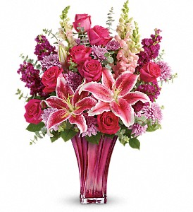 Teleflora's Bold Elegance Bouquet in Eugene OR, Rhythm & Blooms