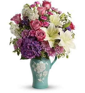Teleflora's Natural Artistry Bouquet in Madison ME, Country Greenery Florist & Formal Wear