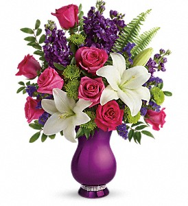 Teleflora's Sparkle And Shine Bouquet in Montreal QC, Fleuriste Cote-des-Neiges