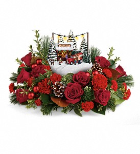 Thomas Kinkade's Festive Moments Bouquet in Liberal KS, Flowers by Girlfriends