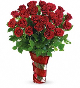 Teleflora's Dancing In Roses Bouquet in Fredonia NY, Fresh & Fancy Flowers & Gifts