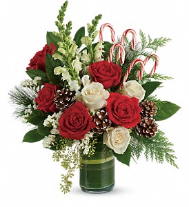 Teleflora's Festive Pines Bouquet in Drayton ON, Blooming Dale's