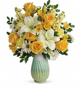 Teleflora's Art Of Spring Bouquet in Jupiter FL, Anna Flowers