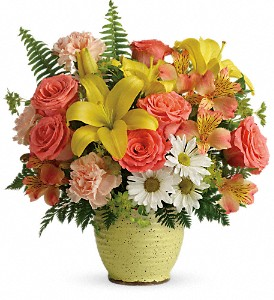 Teleflora's Clear Morning Bouquet in Stittsville ON, Seabrook Floral Designs