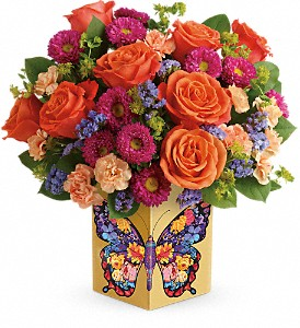 Teleflora's Gorgeous Gratitude Bouquet in Basking Ridge NJ, Flowers On The Ridge