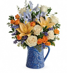 Teleflora's  Spring Beauty Bouquet in Liverpool NY, Creative Florist