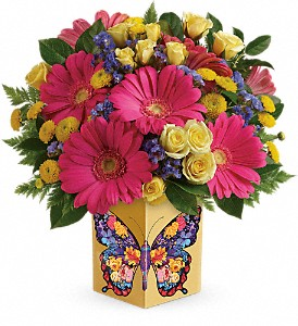 Teleflora's Wings Of Thanks Bouquet in Fort Lauderdale FL, Brigitte's Flower Shop