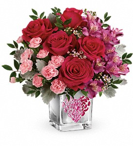 Teleflora's Young At Heart Bouquet in Chicago IL, Wall's Flower Shop, Inc.