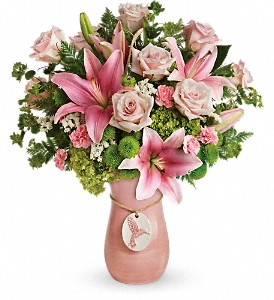Teleflora's Elegance In Flight Bouquet in Shawnee OK, House of Flowers, Inc.
