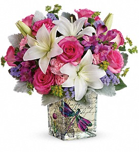Teleflora's Garden Poetry Bouquet in Sterling IL, Lundstrom Florist & Greenhouse