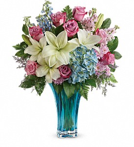 Teleflora's Heart's Pirouette Bouquet in Jupiter FL, Anna Flowers