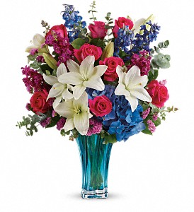 Teleflora's Ocean Dance Bouquet in Charleston WV, Food Among The Flowers