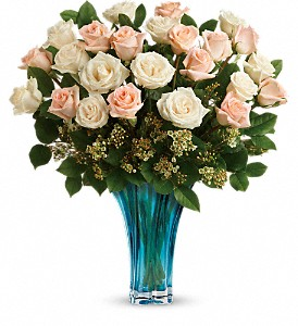 Teleflora's Ocean Of Roses Bouquet in Penetanguishene ON, Arbour's Flower Shoppe Inc
