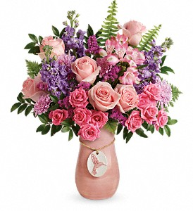 Teleflora's Winged Beauty Bouquet in Auburn WA, Buds & Blooms