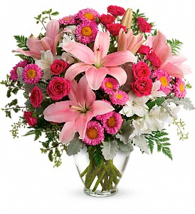 Blush Rush Bouquet in Irvington NJ, Jaeger Florist