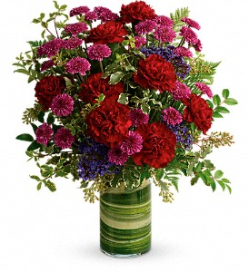 Teleflora's Vivid Love Bouquet in Drayton ON, Blooming Dale's
